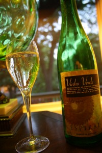Summer white wine value Vinho Verde