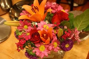 Voila your arrangement is complete