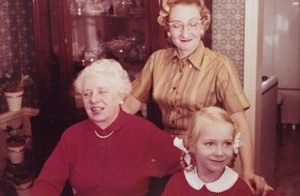 Three generations of my mother's maternal lineage. Where it all began... or at least a few generations.